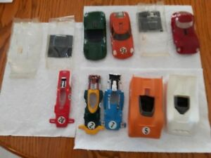 1/32 painted and unpainted slot car shells