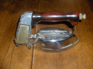old radiant brand clothes iron