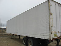 Van Trailers for Storage, 40 ft