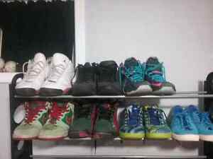 Men's Shoe Lot Jordans Nike Adidas  Kitchener / Waterloo Kitchener Area image 7