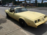 1980 PONTIAC FIREBIRD YELLOWBIRD ORIGINAL