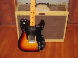 Ampli Fender Blues Deluxe et Fender Telecaster Reissue 72 USA