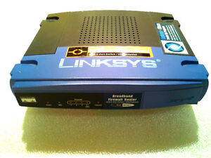Cisco Linksys Wired 4 Port Router