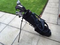 Golf clubs. Full set of zucci irons 3-sw, driver, 5 wood, putter & bag. Excellent condition