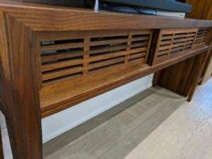 Console/Media  table with 3 Sliding Doors