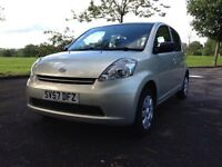 Diahatsu sirion 1.0s (12 months mot / part exchange considered)