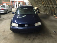 Volkswagon Golf 2002 - Automatic - Blue