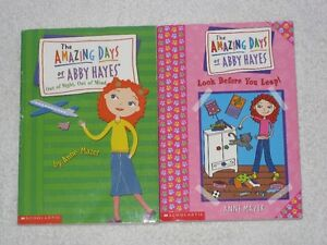 THE AMAZING DAYS OF ABBY HAYES - CHAPTERBOOKS - CHECK IT OUT