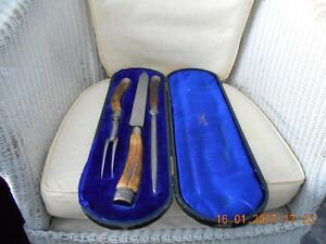 Mappin & Webb carving set.