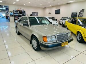 1989 Mercedes-Benz 300 C124 CE Champagne 4 Speed Automatic Coupe Carss Park Kogarah Area Preview