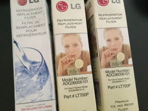 '3' Premium LG Ice and Water Filters - Part# LT700P