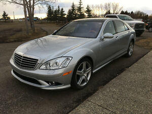 2009 Mercedes-Benz S550 4matic with AMG  package