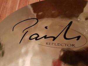 """PAISTE 22"""" POWER RIDE REFLECTOR CYMBAL Perth Perth City Area Preview"""
