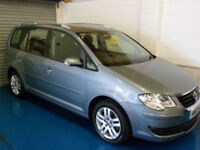 Volkswagen Touran 1.9TDI ( 105PS ) ( 7seater ) 2007MY SE 46618 Miles!