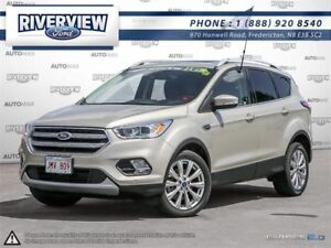 2017 Ford Escape Titanium - $111 Weekly for 72 Months at 1.9%