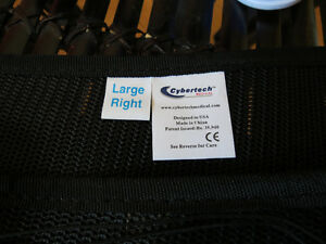 Cybertech-Medical-Spine-Lumbar-Back-Support-Brace-New-Blac