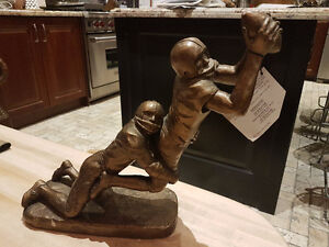 Austin Football sculpture