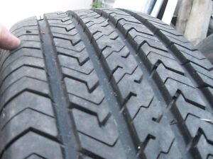 4 Michelin 205/75/14 all season tires& rims