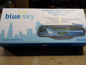 Hands free bluetooth car kit by Blue sky