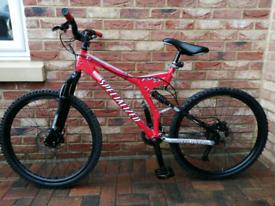 Specialized full suspension bike