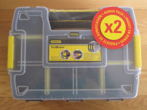 Two Stanley Sort Master Organizers