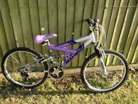 24 inch mountain bike