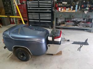 Delray motorcycle trailer