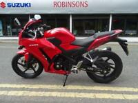 2016 66 Plate Honda CBR300 just 22 miles in stunning Red