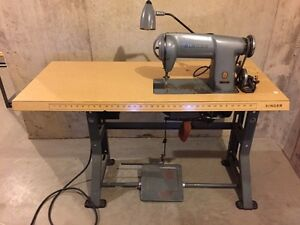 Singer Industrial Sewing Table