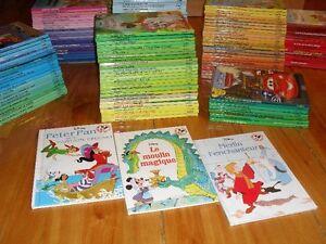 150 livres de Walt Disney pour enfants comme neufs