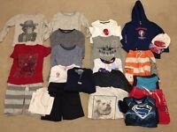 Large bundle mixed boys clothes 3/4/5