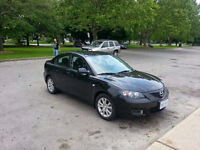 2008 Manual Mazda3 in VERY GOOD CONDITION **LOW KMS**