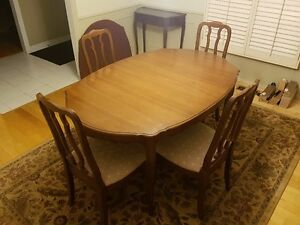 Malcolm - Dining Room Table with Buffet and Hutch Set