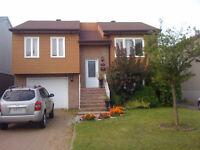 Magnifique bungalow a vendre avec option achat