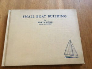 Small Boat Building - Book by Edwin Monk