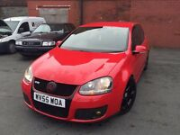 VOLKSWAGEN GOLF GTI STUNNING CONDITION RED