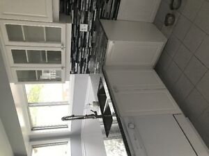 granite counter and cupboards
