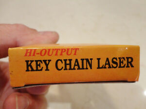 Hi Output Laser Keychain - Red Beam Kitchener / Waterloo Kitchener Area image 2