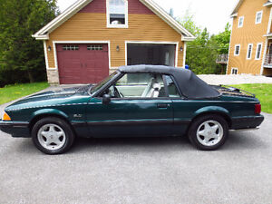 ford mustang lx 1991 convertible