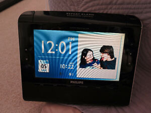 Philips AJL308 Digital Clock Radio Photo Frame