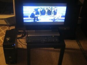 "Desktop  and 26"" LCD HD TV Monitor"