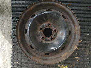 Two 5 x 108 steel rims, 15 inch - Volvo, Ford, Peugeot