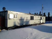 Well-site Skid Type Trailer living working accomadations