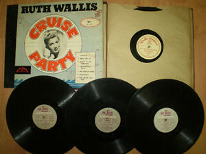 Ruth Wallis 78 rpm LPS Records x 14 - Gay Pride Interest Cabaret