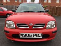 Nissan Micra 1.0 Celebration, 3dr Petrol Manual 10 Months MOT, HPI Clear. Great Drive
