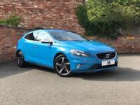 2015 Volvo V40 Hatch 5Dr 2.0D2 120 DPF SS EU6 R DESIGN 6Spd Diesel blue Manual
