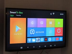 "50 ""Smart TV SAMSUNG, 449 $. Neuf avec boîte."
