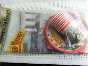 Vintage Who Framed Roger Rabbit Party Pak