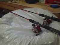 2 Brand new Zcast Fishing Rods