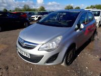 VAUXHALL CORSA D 1.0 2013 BREAKING FOR SPARES PLEASE CALL BEFORE YOU COME